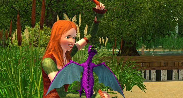 Die Sims 3: Dragon Valley: Drachenbabys & Elfen-Sims warten
